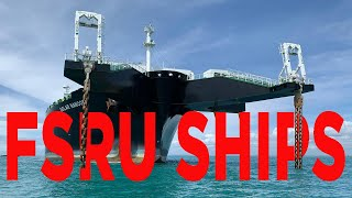 TOP 10 BIGGEST FSRU SHIPS In The World (for LNG Storage And Transport )