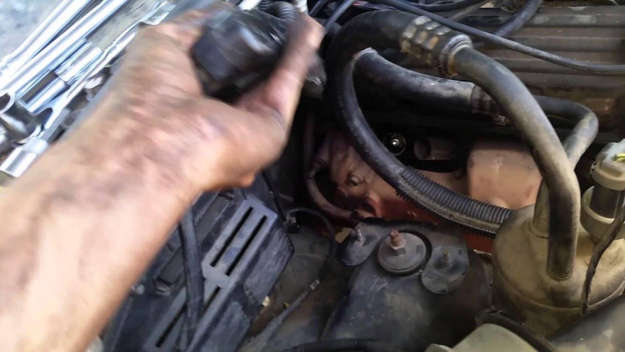 93 Grand Cherokee Crankshaft Position Sensor Youtube Ford 4 9 Engine Diagram Crank