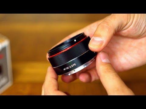 Samyang AF 35mm f/2.8 FE lens review with samples