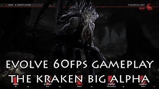 Evolve PC Big Alpha Kraken 60FPS Introduction and Gameplay