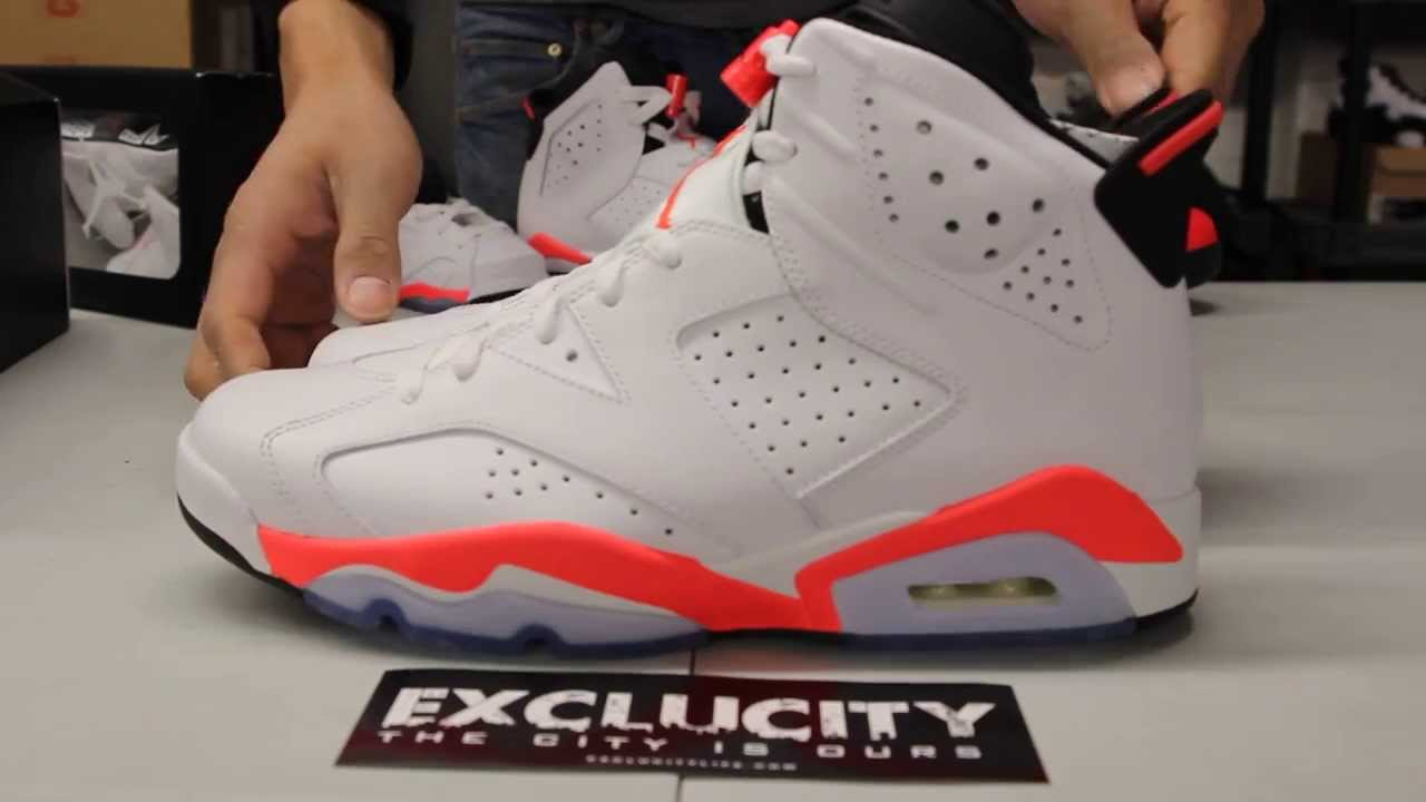4a17802b0121 ... youtube c8b11 2762f  shopping air jordan 6 white infrared unboxing  video exclucity de484 25b04
