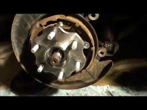Pathfinder Rear Wheel Bearing Replacement