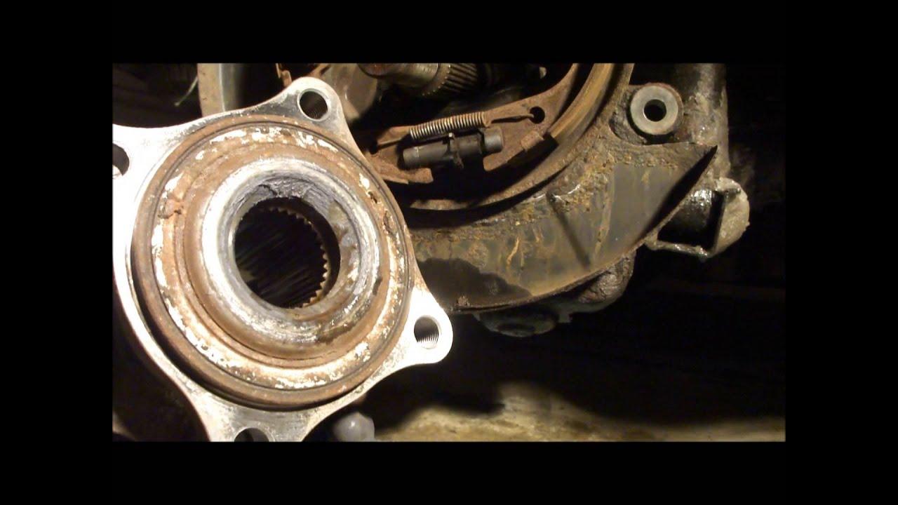 Pathfinder Rear Wheel Bearing Replacement Youtube