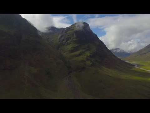 Glencoe Drone 4th March 2017