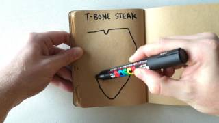 How to Draw a T-Bone