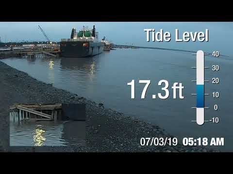 Port Of Alaska Tides Time-Lapse