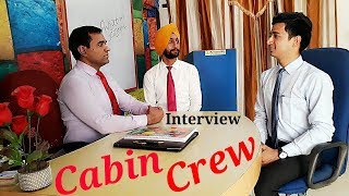 Cabin Crew Interview in India (Recruitment Interview)
