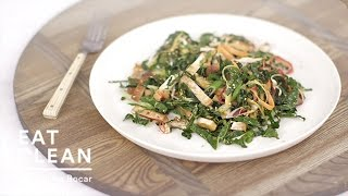 Shaved Carrot Salad With Baked Tofu - Eat Clean With Shira Bocar