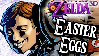 Majora's Mask 3D SECRETS & Easter Eggs (3DS)