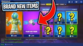 The BRAND NEW DAILY & FEATURED Items In Fortnite: Battle Royale! (Skin Reset #68)