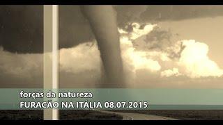 ITÁLIA Tornado matou uma pessoa e deixou dezenas de feridos