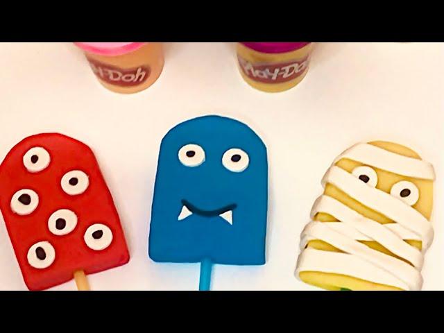 Лепим мороженое