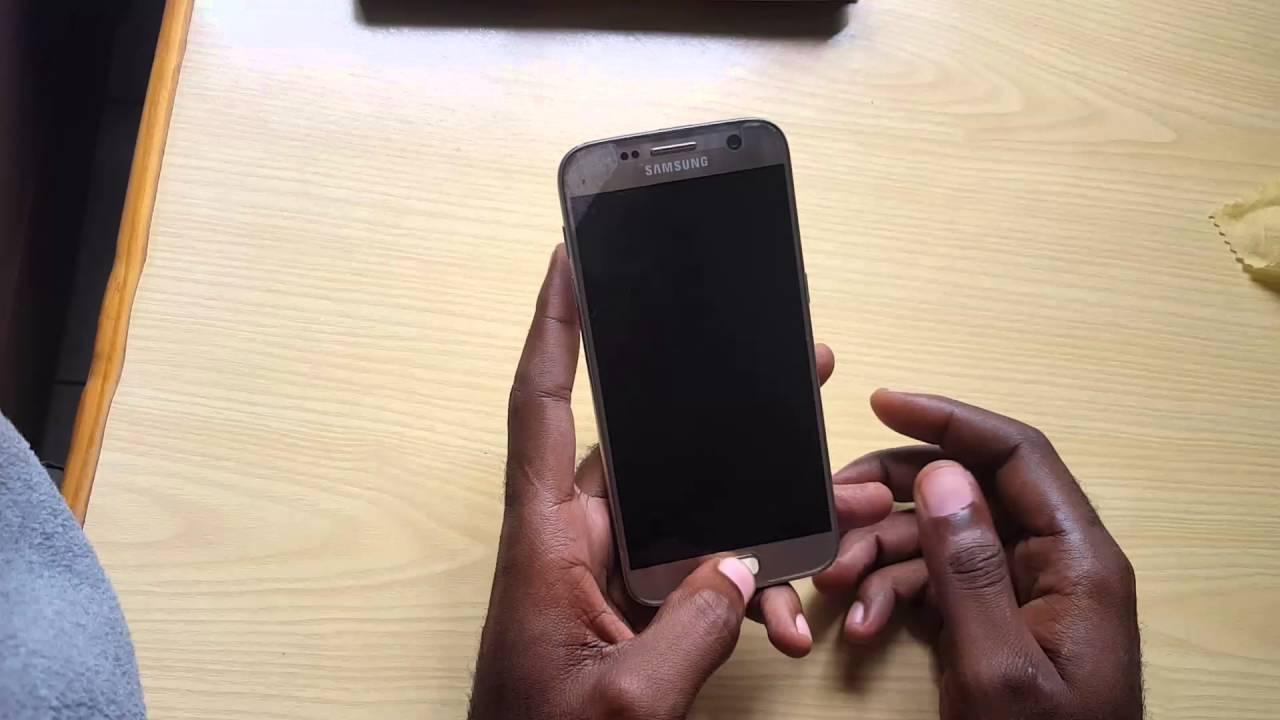 Samsung Galaxy S7 Black Screen fix