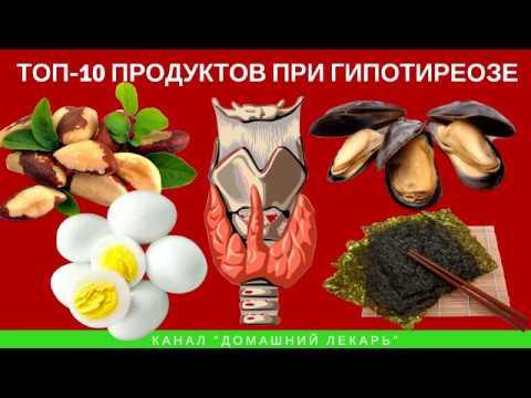 ТОП-10 продуктов при гипотиреозе - Домашний лекарь - выпуск №235