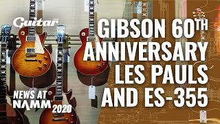 All you need to know about the Gibson 60th Anniversary Les Pauls #NAMM2020