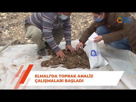 Elmalı'da Toprak Analiz Çalışmaları Başladı
