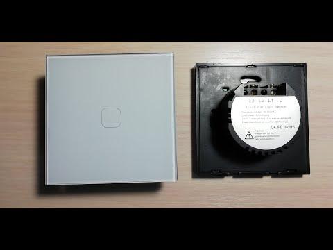 Сенсорный выключатель света с Алиэкспресс! #109 Установка! Лучший обзор! Товары из Китая!
