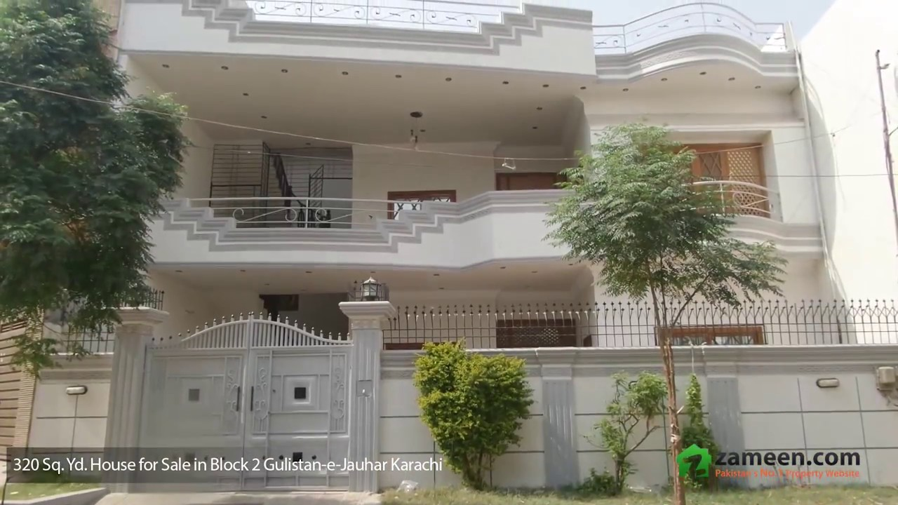 HOUSE IS AVAILABLE FOR SALE IN GULISTAN-E-JAUHAR - BLOCK 2 KARACHI