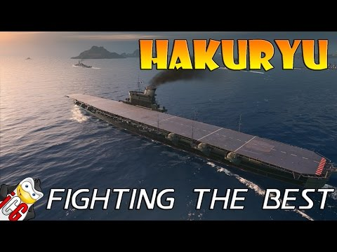World of Warships - Hakuryu - Fighting The Best