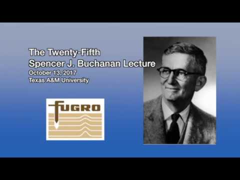 Turning Disaster Into Knowledge — 2017 Buchanan Lecture By J.D. Bray