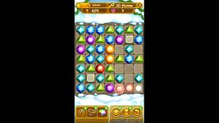 Gemcrafter: Puzzle Journey - iOS & Android Gameplay & Walkthrough for Mountains Level 50