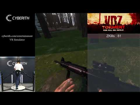 Cyberith Virtualizer Elite with VR Zombie Shooter VRZ TORMENT