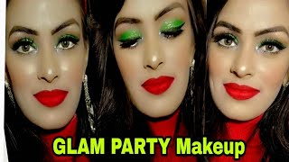 Winter Special Glam Late Night Party Makeup For Christmas & NewYear रात की पार्टी के लिए बोल्ड मेकअप