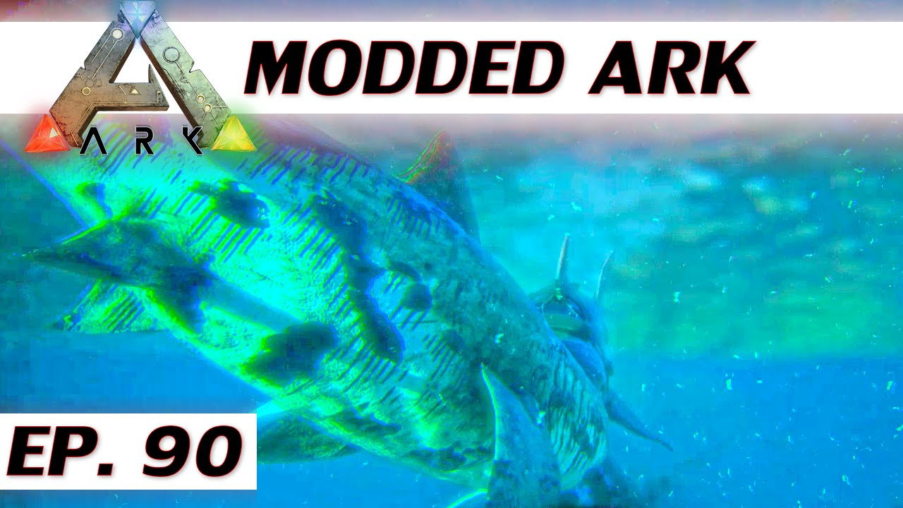 d6b1dcb0556c Modded ARK  Survival Evolved - Ep 90 - Deep sea SCUBA diving - single  player let s play s3 solo