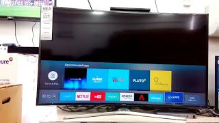 How to setup Samsung KU6300 LED UHD CURVED 55INCH TV Wlreless Network Setup