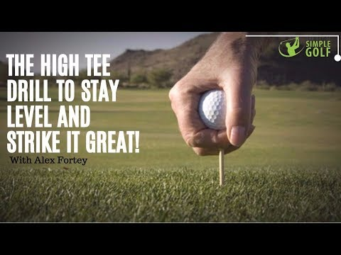 Golf Swing Tip For Simple Golf: How To Stay Level For Consistency