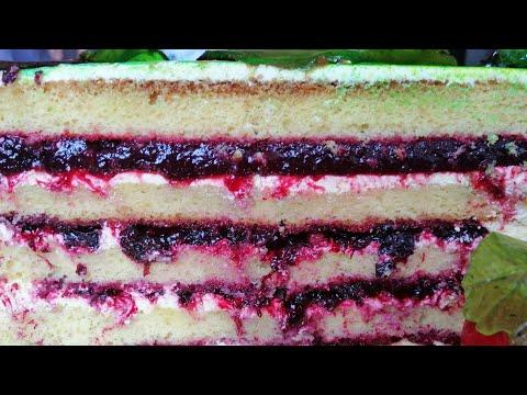 Ягодная начинка для торта Джем из чёрной смородины