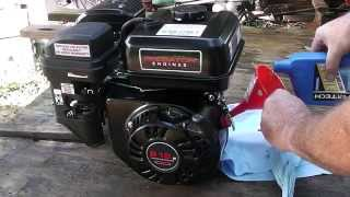 Predator 6.5 HP 212 CC Engine Start-up and Break-in