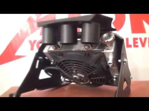 Вынос радиатора + шноркель на квадроцикл.