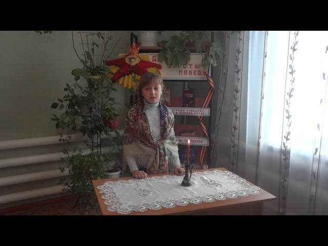 Изображение предпросмотра прочтения – АлинаВойнова читает произведение «Зимняя ночь» Б.Л.Пастернака