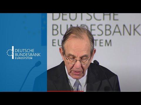 Vortrag von Italiens Finanzminister Pier Carlo Padoan an der Goethe-Universität Frankfurt