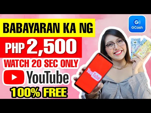 EARN FREE P2500 BY WATCHING YOUTUBE VIDEOS | DAILY PAYOUT WALANG PUHUNAN | 100% LEGIT WITH OWN PROOF