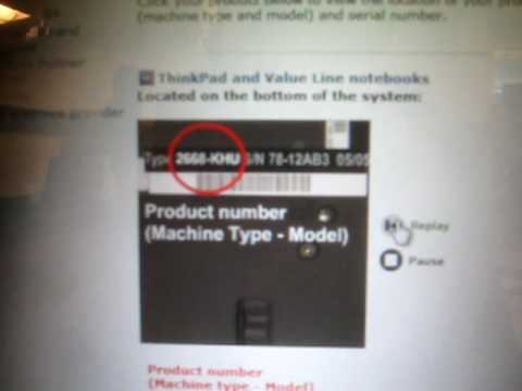laptop serial number lenovo