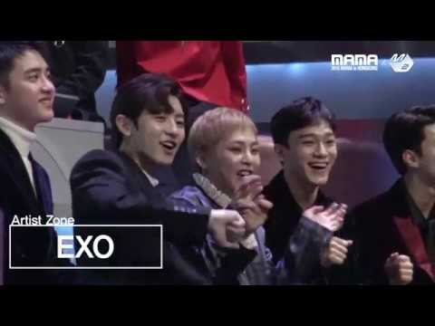 Download [2016MAMA x M2] EXO Reaction to Suzy&BaekHyun's performance
