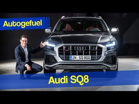 Audi Q8 goes powerful - 2020 Audi SQ8 Exterior Interior - Autogefuel