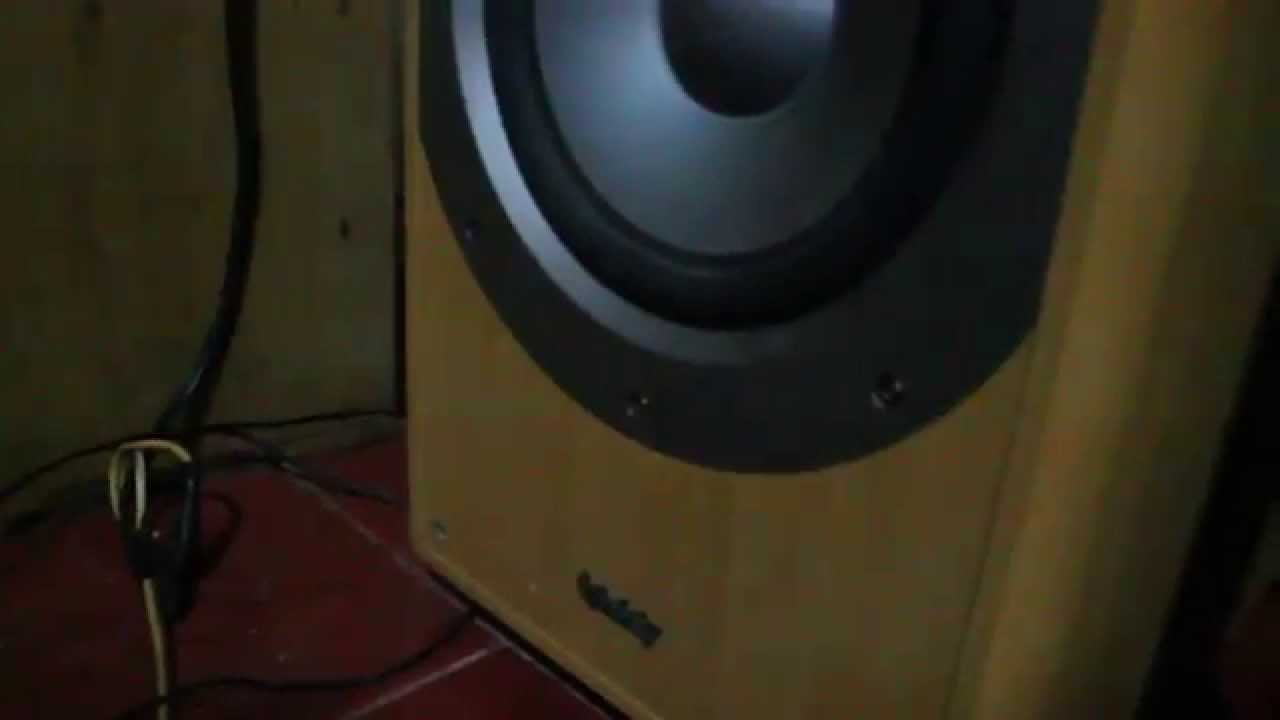 infinity primus ii ps-8 sound test - youtube