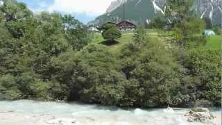 Dal campeggio Dolomiti di Cortina D'Ampezzo,uno sguardo intorno,22 Agosto 2012