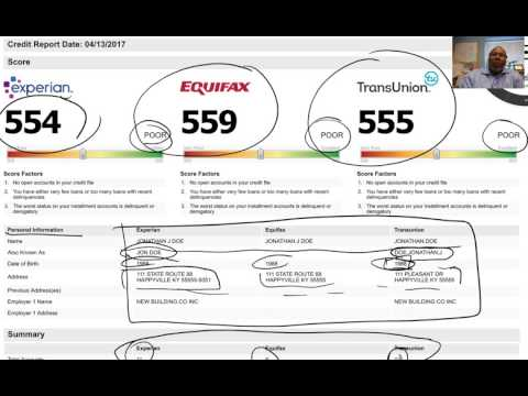 How To Read Credit Reports