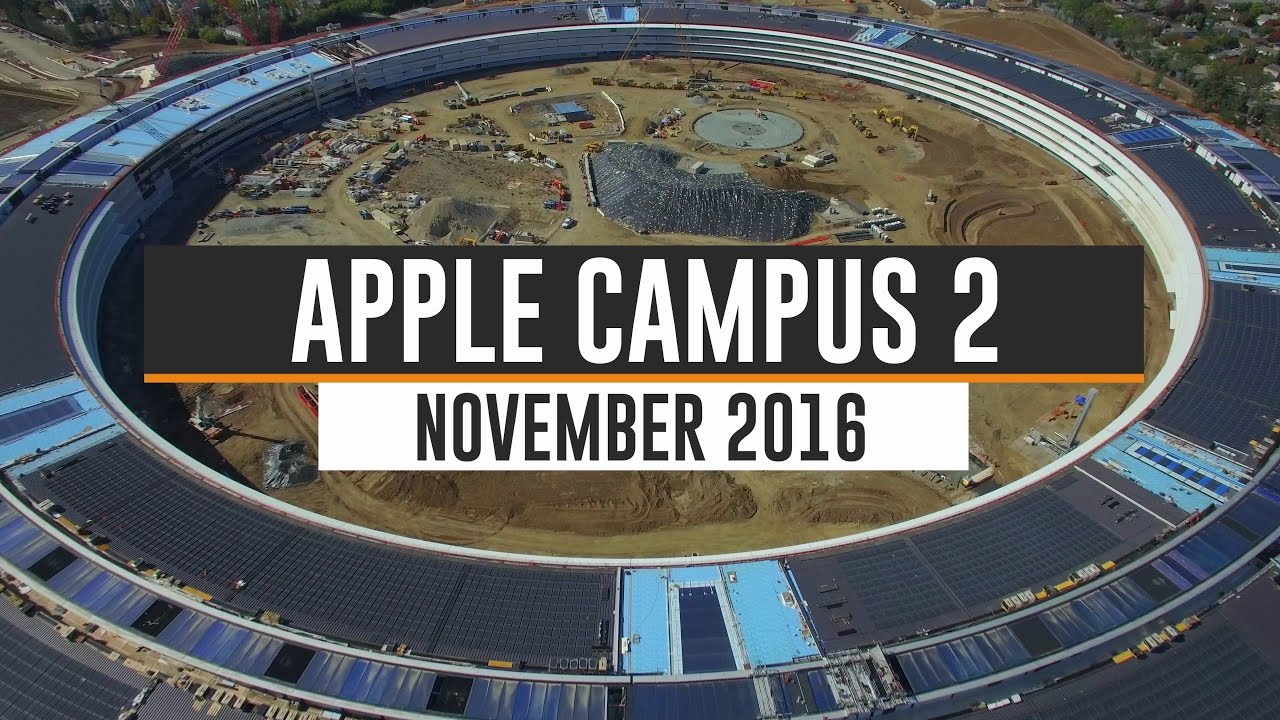 APPLE CAMPUS 2 November 2016 Update 4K YouTube