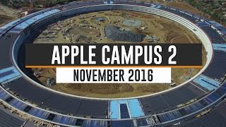 APPLE CAMPUS 2 November 2016 Update 4K