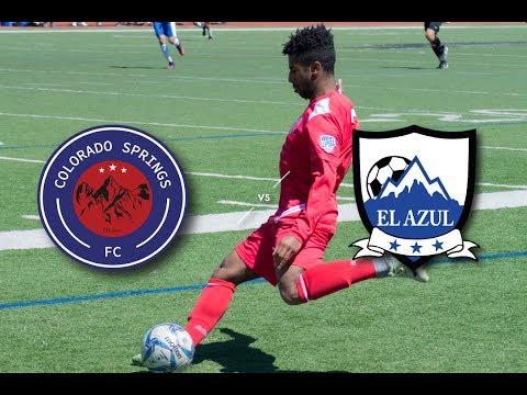 Official UPSL Match Colorado Springs FC vs. Club El Azul