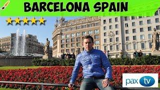 Достопримечательности Барселоны Испания за один день || Barcelona Spain best sights to see GOPRO 4(Барсело́на — город в Испании, столица автономной области Каталония и одноимённой провинции. Порт на Средиз..., 2017-02-03T20:10:36.000Z)