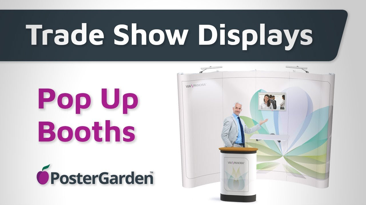 Pop Up Display Booth For Trade Shows