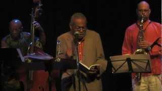 ESAA Presents: AMIRI BARAKA (feat. Reggie Workman on Bass) - Something in the Way of Things / Africa