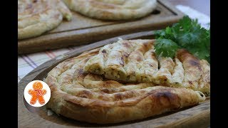 Слоеный Пирог с Сыром ✧ Бёрек с Сыром