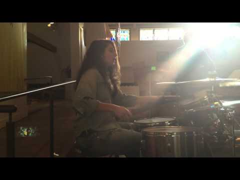 Rightful Place - STEVE ANGRISANO LIVE DRUM COVER - GINA FLETCHER DRUMS